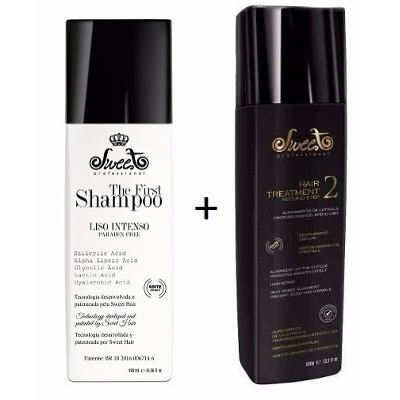 The First Shampoo que Alisa Sweet Prof